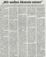 Kooperation AG 78 mit der Halterner Bürgerstiftung (Halterner Zeitung im Januar 2019)