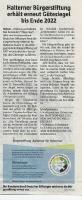 Halterner Bürgerstiftung mit Gütesiegel ausgezeichnet - Halterner Zeitung im August 2020 -