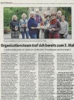 Organisationsteam Burgerbrunch 2020 - Halterner Zeitung im Januar 2020